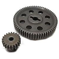 WINOMO Metal HSP 1118411181diferencial principal Gear 64T Motor Gear 21T 9411194171/10RC Modelo Cars