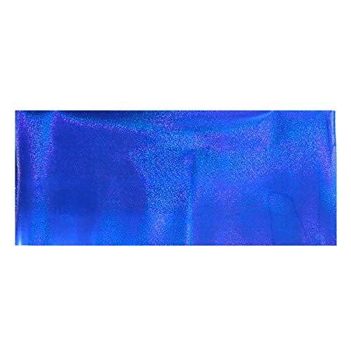 Healifty Wärmeübertragung Vinyl Rolle für DIY T-Shirts Kleidungsstücke (Blau)
