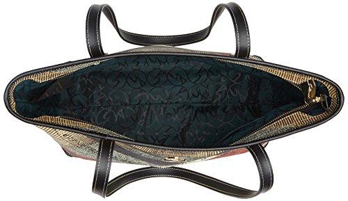 Gattinoni Gplb006, Borsa a Spalla Donna, 13x24.5x31 cm (W x H x L) Multicolore (Classico)