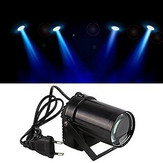 Allright 30W Lichteffekte DMX Bühnenbeleuchtung LED Bühnenlicht Controller für DJ Disco Party KTV Weiß Moving Head