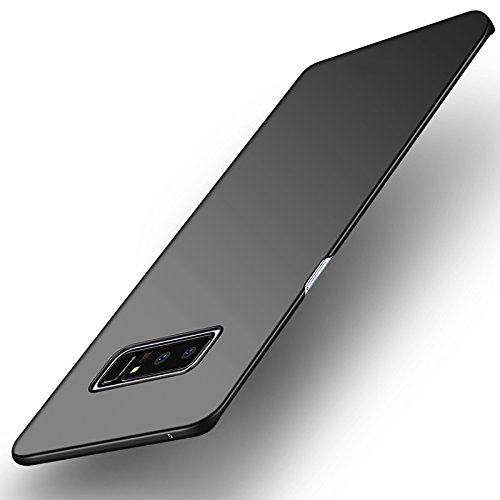 Croazhi Galaxy Note 8 Fall, Extra dünne Hard Case PC Anti-Fingerprint Matte Cover für Samsung Galaxy Note 8 (schwarz, Galaxy Note 8)