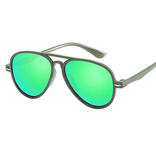 Hniunew Kinder Baby Retro Anti-Uv-Sonnenbrille Farbfilm Brille Neues Cooles Baby Junge MäDchen Brille Farbfilm Sonnenbrille Regenbogen Damenbrillen Kaleidoskop Rainbow Brillen