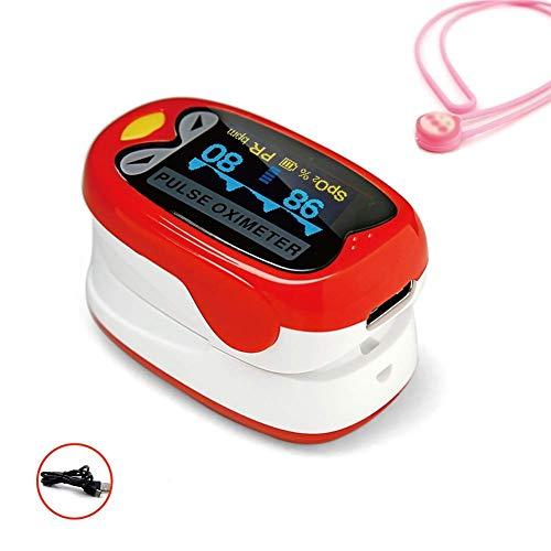Flowing water Säuglingsmedizinisches Fingeroximeter SpO2 Blutsauerstoffsättigungsmessgerät, wiederaufladbare tragbare pädiatrische Pulsoximeter für Neugeborene Kinder