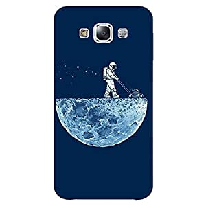 Jugaaduu Moon Walking Back Cover Case For Samsung Galaxy E7