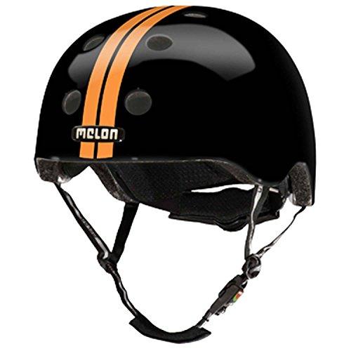 Melon Helm Visier Vista Visor UV400 für alle Melon Helme Straight Orange Black