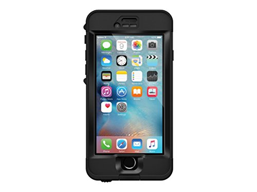 LifeProof Nuud Custodia per Apple iPhone 6s, Nero