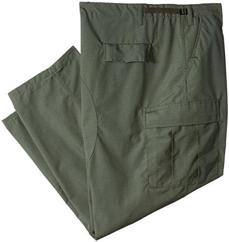 Tru Spec Olive Drab (TRU-SPEC 1318009 Classic BDU Pants, Polyester Cotton Rip-Stop, 4X-Large Regular, Olive Drab)