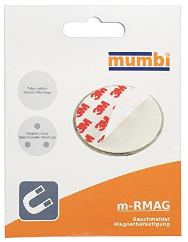 mumbi Magnet Befestigung für Rauchmelder Magnetbefestigung für glatte Flächen (NICHT für...