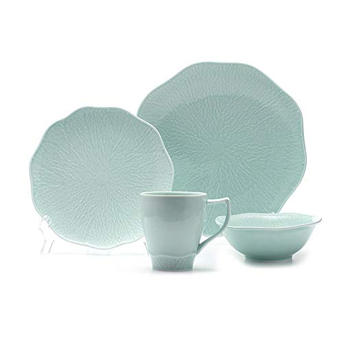 XZDXR Besteck Teller Schüssel Tasse 4 Stück Set nach Hause Geschenk Koreanischen Stil Japanischen...