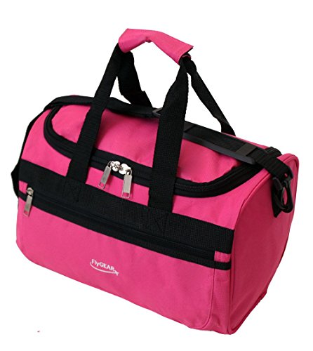 super-lightweight-ryanair-second-cabin-travel-holdall-stowaway-bag-35x20x20cm-pink