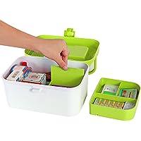 Schmuckkästchen Mizii Medizin-Box Familie Medizin Aufbewahrungsbox Doppelschichtige Fach Erste-Hilfe-Box Multifunktions-Aufbewahrungsbox... preisvergleich bei billige-tabletten.eu