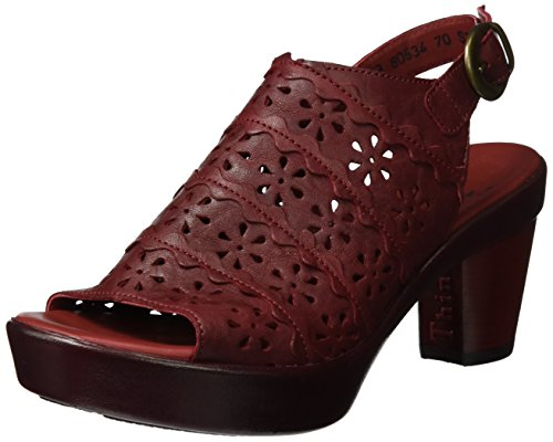Think! Damen Gspusal Slingback Rot (rosso 70)