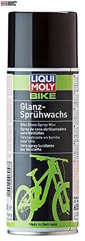 LIQUI MOLY LM Fahrrad Wax Sprühwachs Konservierungswachs Bike Glanz Sprühwachs bike gloss spray wax 400 ml