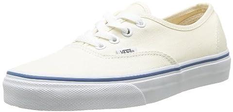Vans AUTHENTIC, Unisex-Erwachsene Sneakers, Weiß (White WHT), EU 40 (UK 6.5)