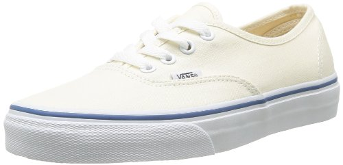 Vans U Authentic - Baskets Mode Mixte Adulte Blanc (White)