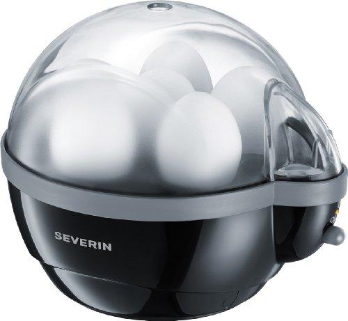 Eierkocher 400 Watt Schwarz / grau