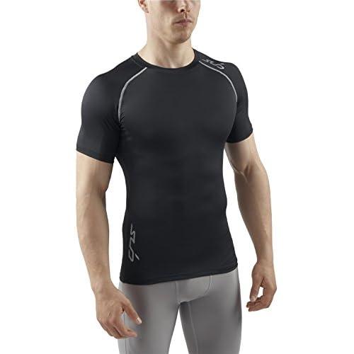 411wL3fd8aL. SS500  - Sub Sports Men's Heat Stay Cool Semi Compression Short Sleeve Base Layer