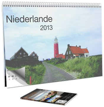 Wandkalender 2013 - Niederlande ( inkl. DVD Insider Niederlande - Watteninseln )