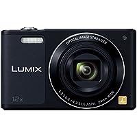 Panasonic digital camera LUMIX SZ10 12x optical black DMC-SZ10-K