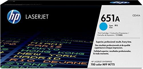 Preisvergleich Produktbild HP 651A (CE341A) Blau Original Toner für HP Laserjet Enterprise M775