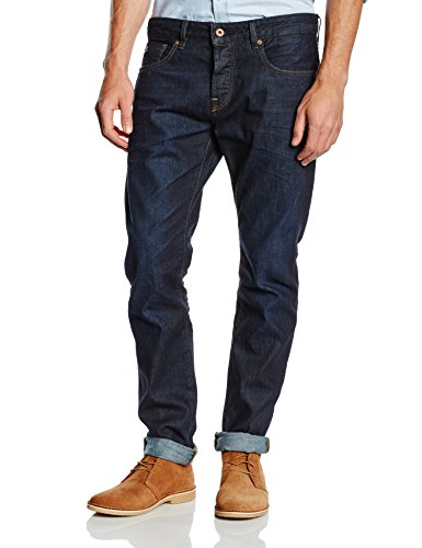 Scotch & Soda Herren Slim Jeanshose 99119985097 Ralston - Touchdown Blau (denim 48)