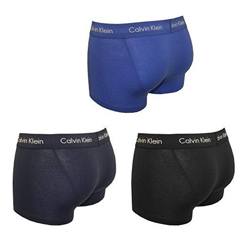 Calvin Klein 3p Low Rise Trunk, Calzoncillos para Hombre, (Pack de 3)