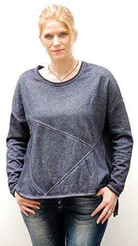 khujo -  Felpa  - Donna Dress Blue XL