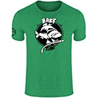 HOTSPOT DESIGN Bass Time, XXL, Verde, Camiseta, 010002705