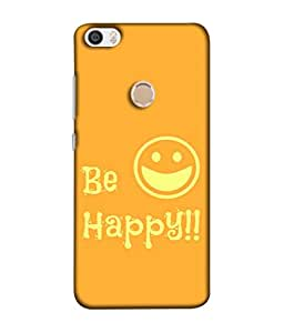 FUSON Designer Back Case Cover for Xiaomi Redmi Max (Big Smile Best Wallpapers Inspiration Quote)