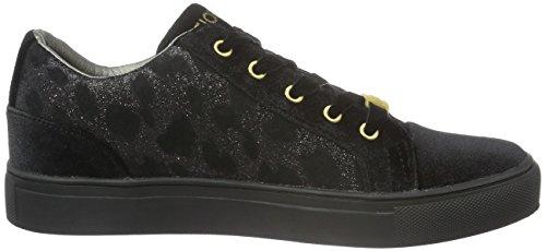 Fiorucci Fdah040, Sneaker Basse Donna Nero (Nero (Nero))