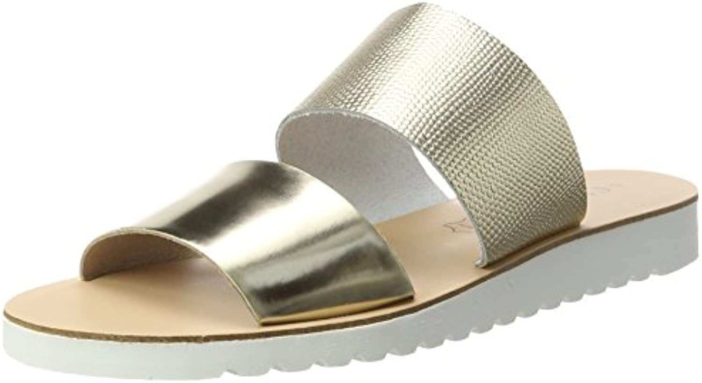 fa398291cce76a Xti Gold Metallic Sandals, Bout Ouvert FemmeB01MZGHJT5Parent | Un Design  Moderne adfc92
