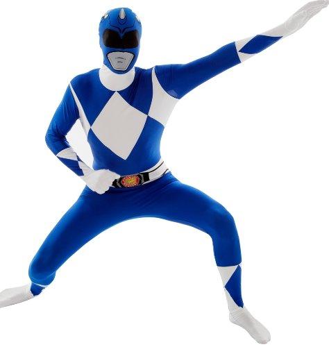 Blue Power Ranger Kostüm Morphsuit