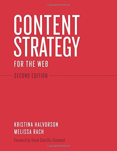 Content Strategy for the Web (Voices That Matter) por Kristina Halvorson