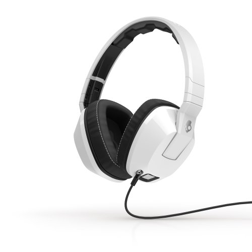 Crusher Over-Ear con Microfono, Bianco