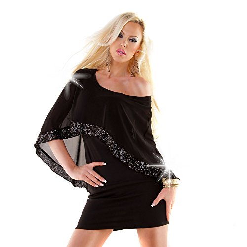 Damen glamouröses Cocktailkleid Etuikleid Kleid Dress Minikleid ...