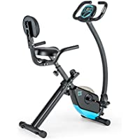 Capital Sports Trajector X-Bike • Ergometer • Heimtrainer • Fitness-Bike • Cardio-Bike • integrierter Handpulsmesser • 3 kg Schwungmasse • Keine Motor-Unterstützug • max. 100 kg • Silber oder schwarz - preisvergleich