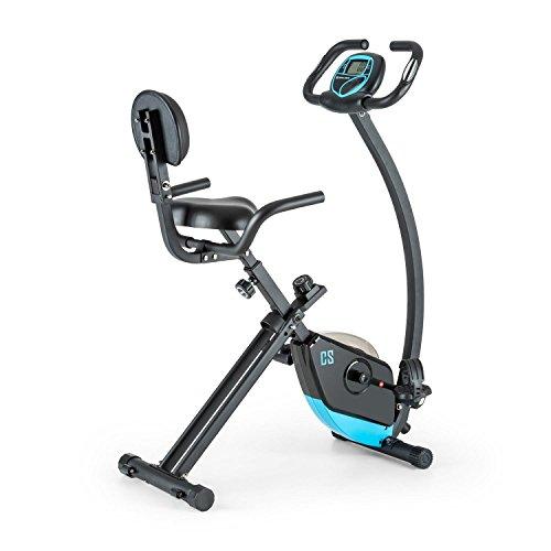Capital Sports Trajector Bicicleta estática ergómetro plegable Volante de 1,4 Kg, 8 niveles resistencia...