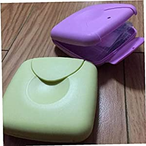 Aisoway Portable Tampons Box Sanitary Napkins Tampon Holde Random Color 1pc