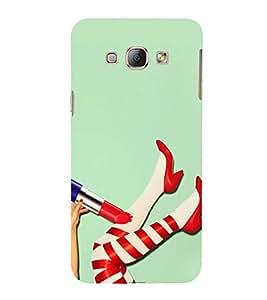 PrintVisa Designer Back Case Cover for Samsung Galaxy A8 (2015) :: Samsung Galaxy A8 Duos (2015) :: Samsung Galaxy A8 A800F A800Y (Animated Teenage Stuff Pic)