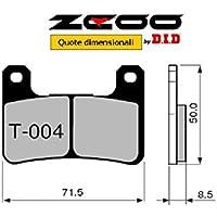 45T00400 PASTIGLIE FRENO ZCOO (T004 EX) SUZUKI GSX-R 750 2004-2005 (ANTERIORE)