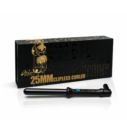 Aria Beauty 25mm Black Tourmaline Curler