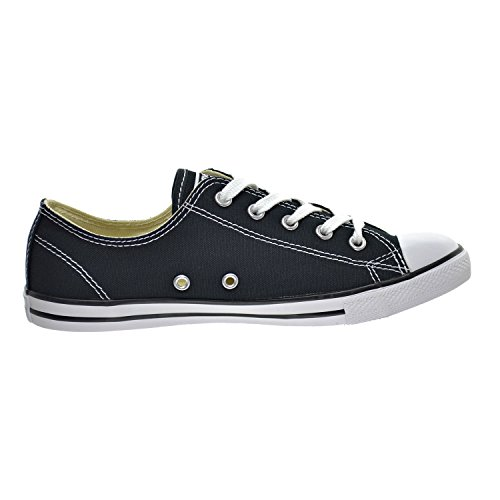 Converse Star Dainty Ox, Sneaker Donna Black