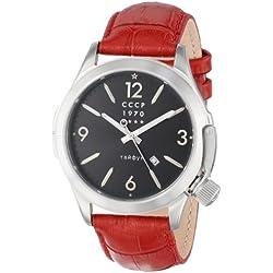CCCP CP-7010-02 - Reloj de Pulsera Hombre, Color Rojo