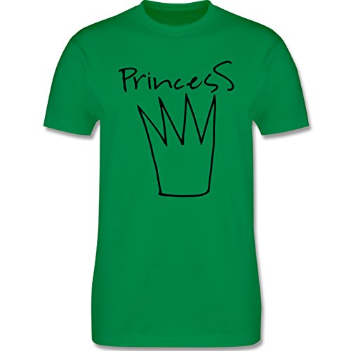 Statement Shirts - Princess Krone - Herren Premium T-Shirt Grün