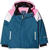 NAME IT Mädchen Jacke NKFSNOW03 Jacket Block FO, Mehrfarbig Legion Blue, 158