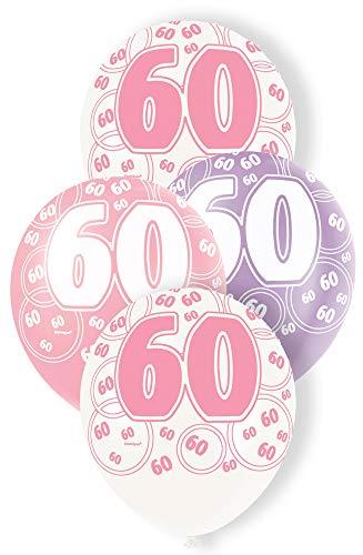 uftballons für den Geburtstag, glitzernd, 30,5cm, 6Stück ()