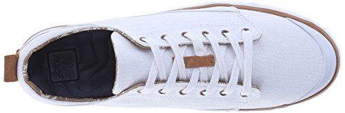 Reef Girls Walled Low, Chaussures Femme Blanc Cassé - Blanco (White)