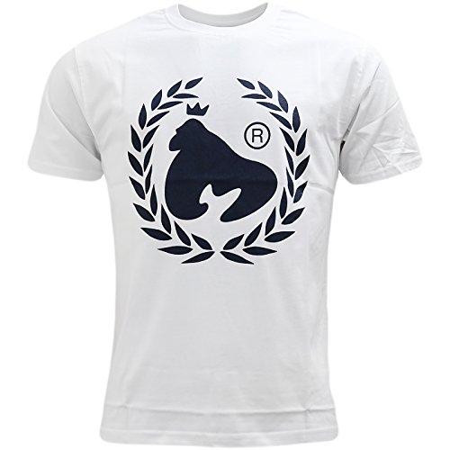 Money Herren T-Shirt, Einfarbig weiß weiß Weiß