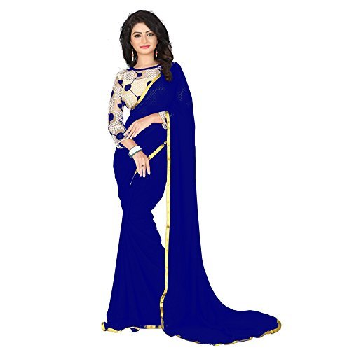 Saree(Aarohi-Womens-Chiffon-Saree)