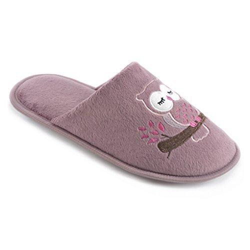 SlumberzzZ, Pantofole donna Dusky Pink